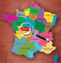 Carte de La Roche posay