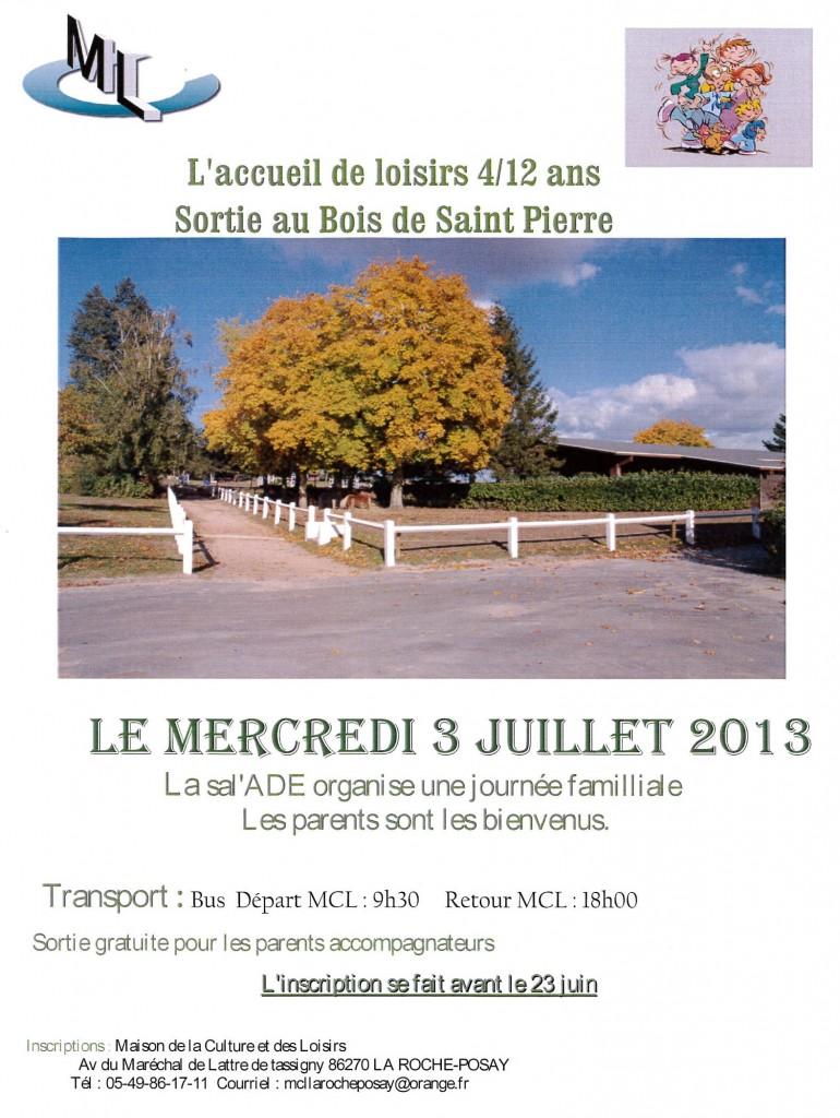 Sortie Bois de St Pierre