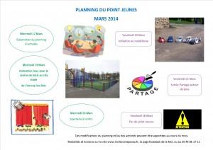 planning point jeunes mars2014