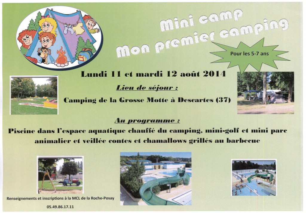 Mini-camp 5 -7 ans