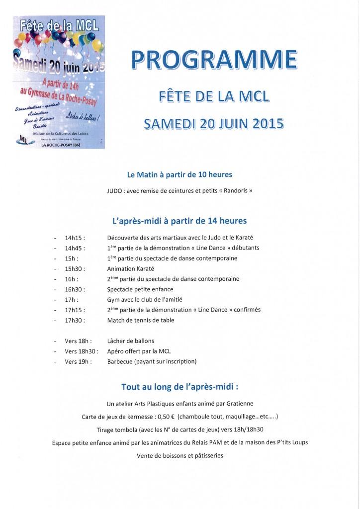 programme 20 juin