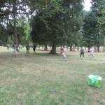 jeu au parc thermal